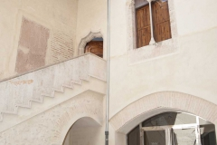 Pati interior del Castell d'Alfara del Patriarca