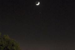 Conjunció de la Lluna i Saturn