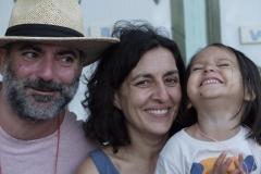 Manel Marí amb la seua família