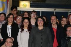 Autoritats i membres del jurat en la inauguració de la MICEa Bonrepòs i Mirambell