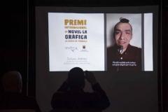 El mexicà Octavio Jiménez Quiroz va agrair la dotació del premi mitjançant un vídeo enregistrat