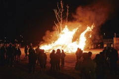 Cremà de la foguera de Sant Antoni a Massalfassar